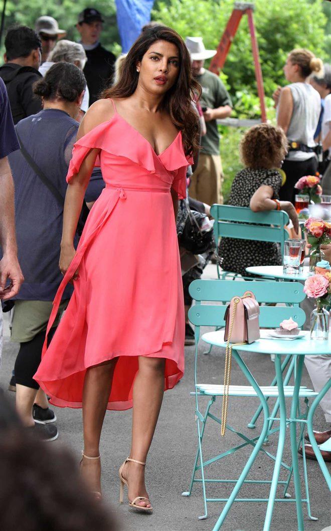 Priyanka IsntItRomantic Pink Dress