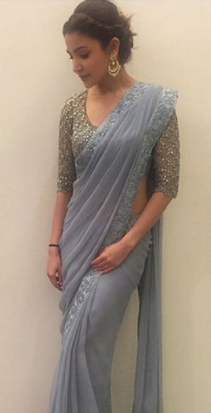Looking for Similar Anushka Sharma Georgette Party Wear Saree