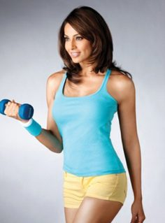 Bipasha Basu Blue Tank Top (Replica)