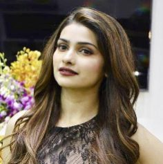 Replica of similar type burgundy lip colour as seen on Prachi Desai