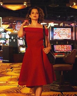 Similar Kangana Ranaut Simran Red Dress