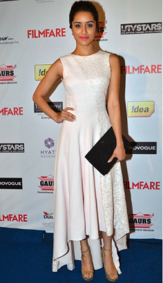 Looking for similar Shraddha Kapoor White High Low Dress