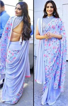 Looking for Sonam Kapoor Georgette Digital Print Saree