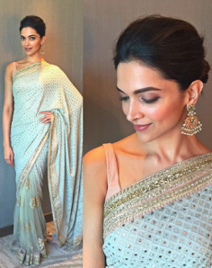 Similar like Deepika Padukone Georgette Saree