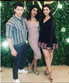 Similar Dress worn by Priyanka on her Post Engagement Party