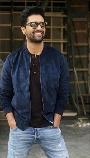 Want same Navy jacket as Vicky Kaushal wore at URI promotion?