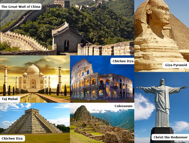 The 7 Wonders of the world @TheRoyaleIndia