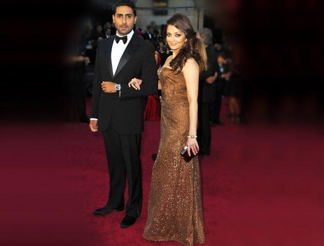 Aishwarya and Abhishek Bachchan on the Red Carpet @TheRoyaleIndia