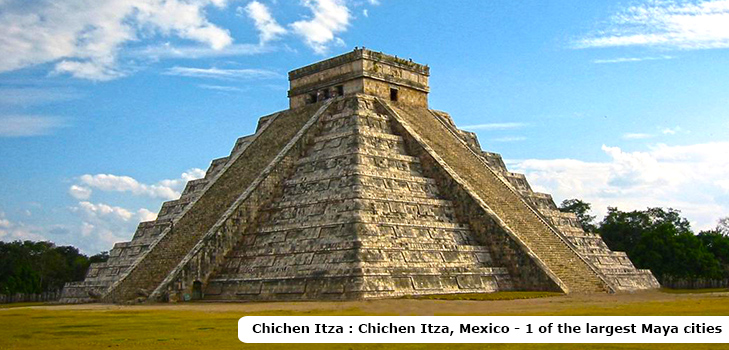 Chichen Itza, the largest Mayan cities at Mexico @TheRoyaleIndia