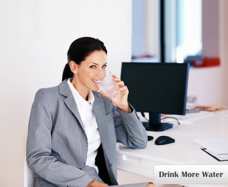 Drink More Water to Stay Fit at Work @TheRoyaleIndia