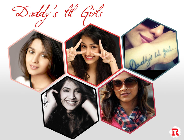Bollywood Queens are Daddy's little girls @TheRoyaleIndia