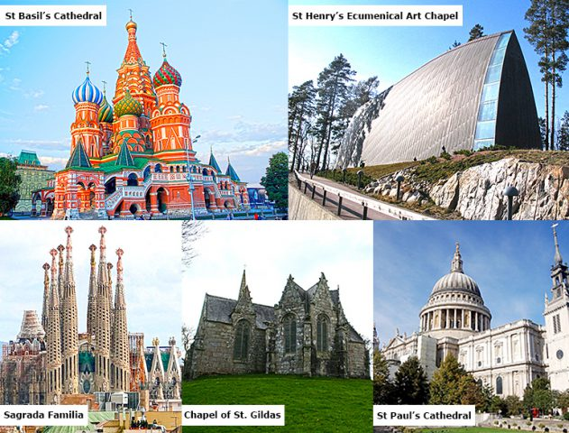 5 must visit churches across the world @TheRoyaleIndia