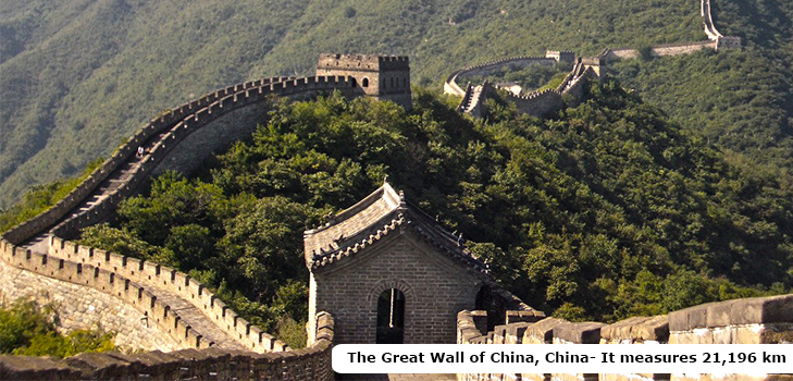 The mighty Great Wall of China @TheRoyaleIndia