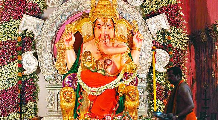 GSB Seva Mandal Ganpati Mandal in Mumbai @TheRoyaleIndia