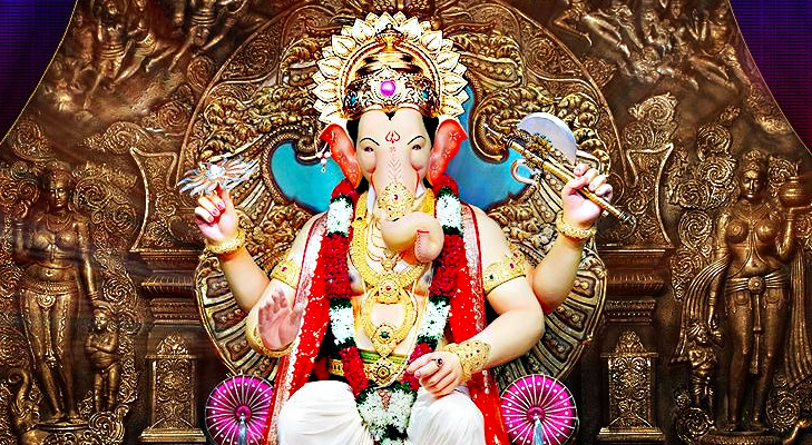 Lalbaughcha Raja Ganpati Mandals in Mumbai @TheRoyaleIndia