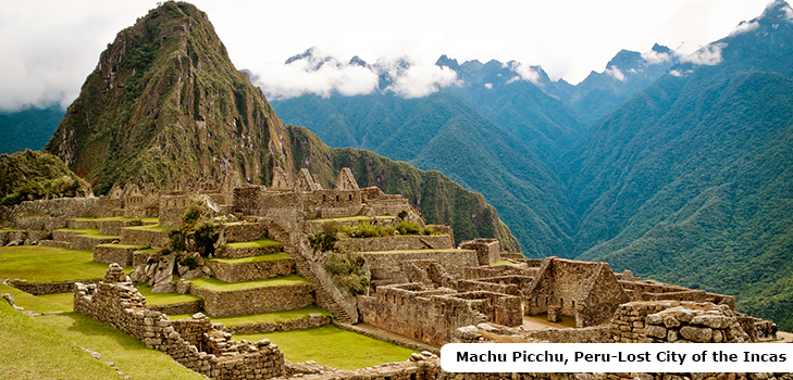 Machu Pichu, The lost city of Incas, Peru @TheRoyaleIndia