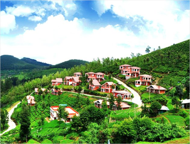 Ooty in the blue haze @TheRoyaleIndia