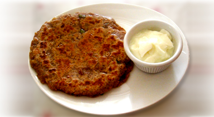 Singhara Rotis for Fasting @TheRoyaleIndia