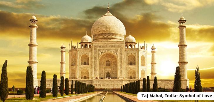 The eternal symbol of love, Taj Mahal, India @TheRoyaleIndia