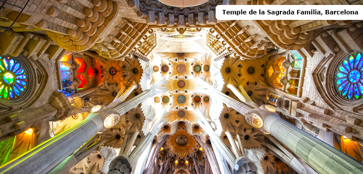 Temple de la Sagrada Familia, Barcelona @TheRoyaleIndia