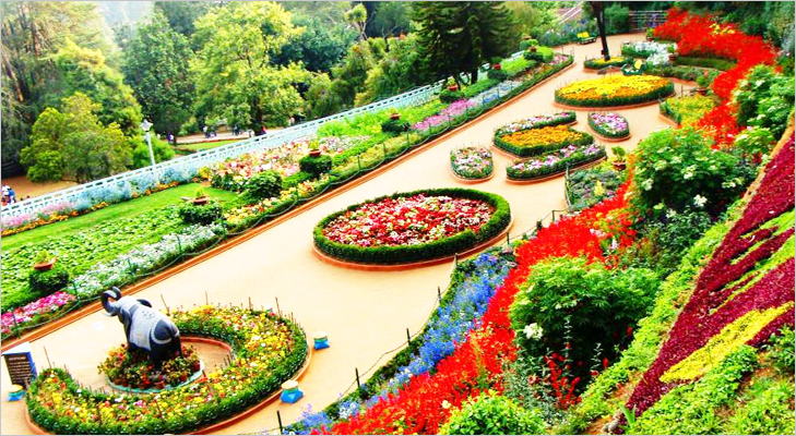 The Rose Garden at Ooty @TheRoyaleIndia