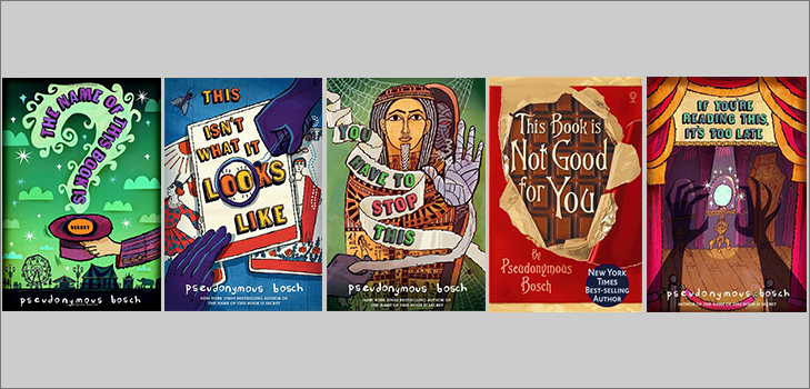 The Secret Series by Pseudonymous Bosch @TheRoyaleIndia