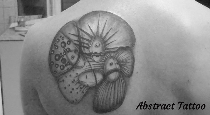 Abstract Tattoo design @TheRoyaleIndia