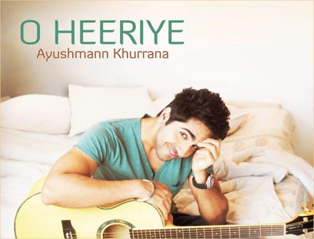 Ayushmann Khurrana in O Heeriye solo album @TheRoyaleIndia