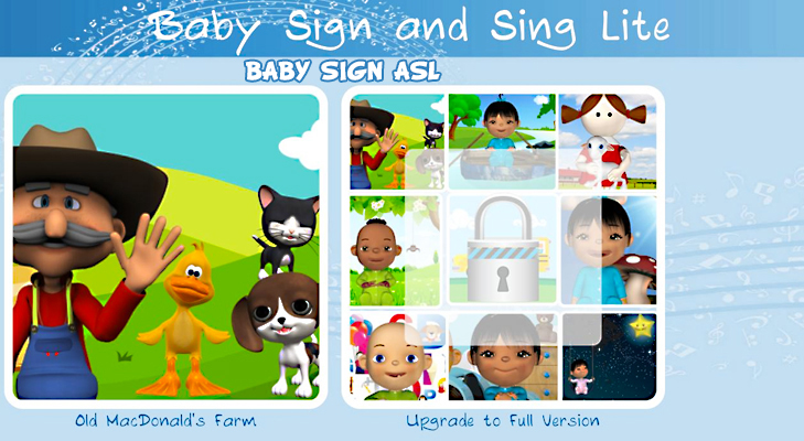 Baby Sign ASL iPhone app for kids @TheRoyaleIndia