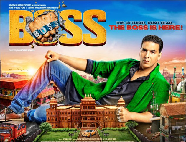 Review of Boss film release @TheRoyaleIndia