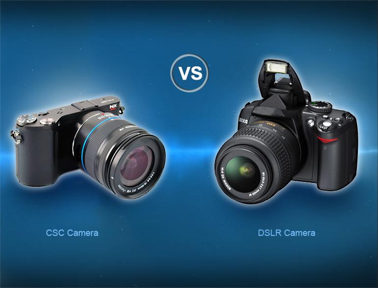 CSC versus DSLR cameras @TheRoyaleindia