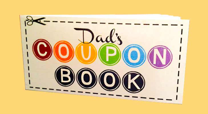 DIY Coupon Book for your dad @TheRoyaleIndia