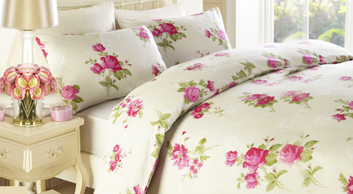 Floral Bedsheets for the bedroom @TheRoyaleIndia