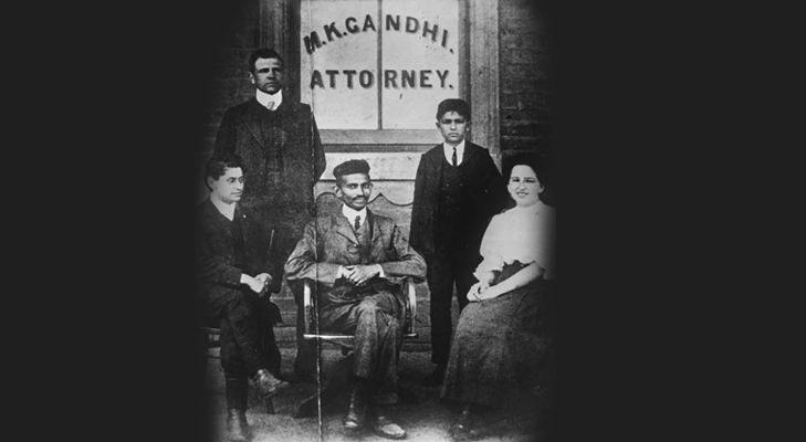 Gandhi during his attorney days in SA @TheRoyaleIndia