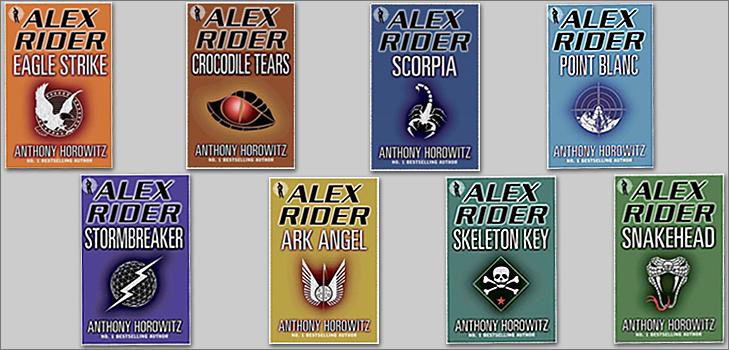 Alex Rider series @TheRoyaleIndia
