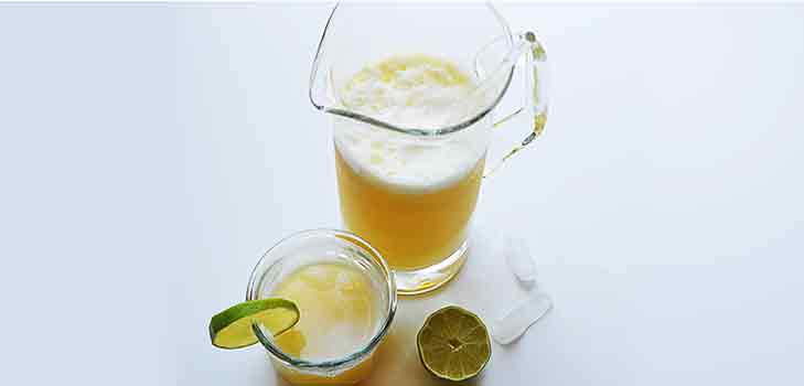 Ginger Pineapple Summer Cooler Recipe @TheRoyaleIndia