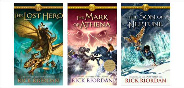 Heroes of Olympus by Rick Riordon @TheRoyaleIndia