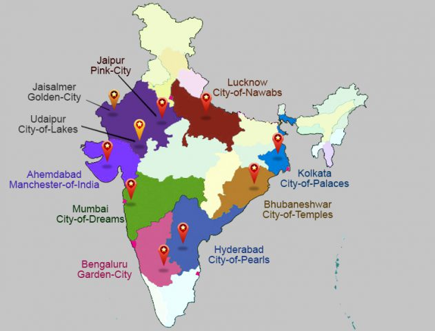 Indian Cities and their nicknames @TheRoyaleIndia