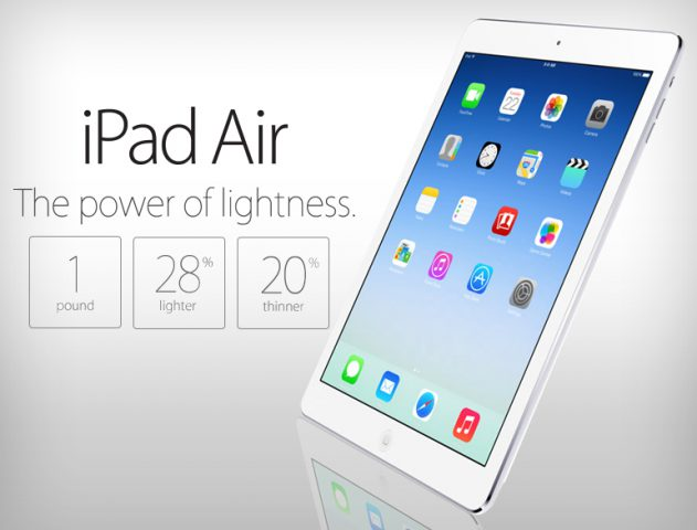 Tim Cook unveils iPad Air @TheRoyaleIndia