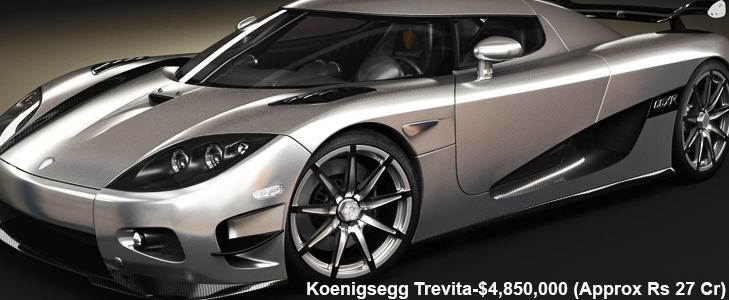 Koenigsegg Trevita - The Glamorous Super Car @TheRoyaleIndia