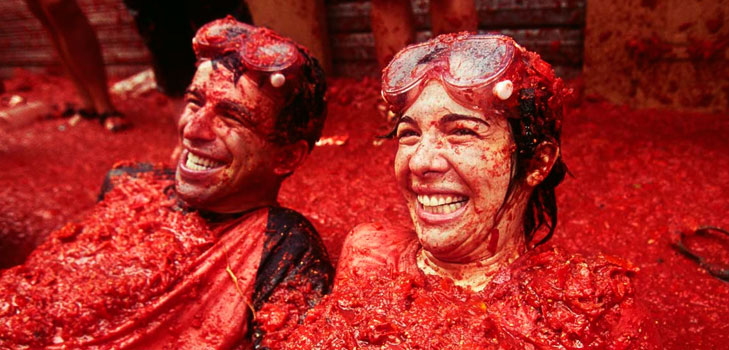 La Tomatina in Spain @TheRoyaleIndia
