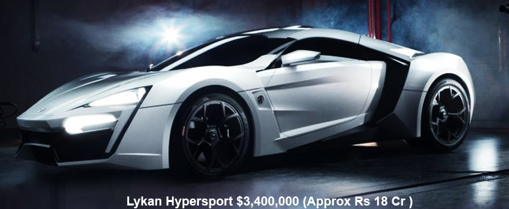Lykan Hypersport - Arab Super Car @TheRoyaleIndia