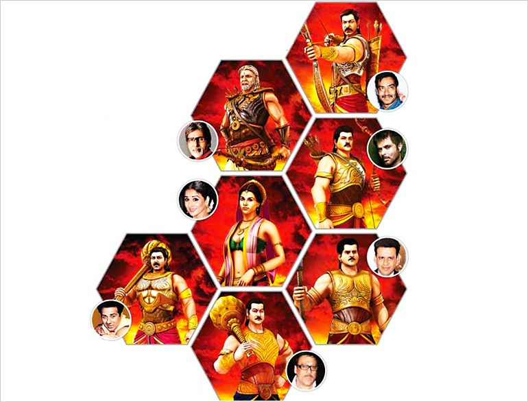 Animated Mahabharat gets star cast @TheRoyaleIndia