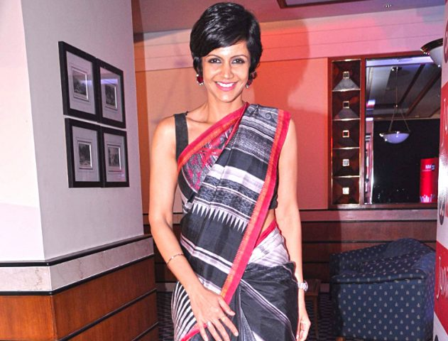 Mandira Bedi launches her saree line @TheRoyaleIndia