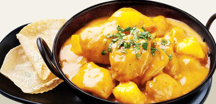 Mango chicken recipe @TheRoyaleIndia
