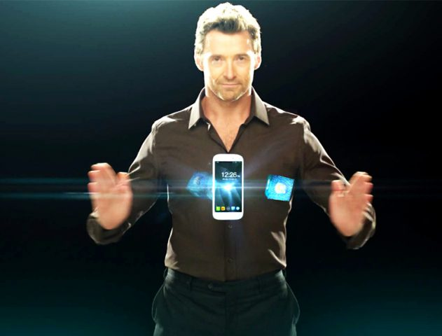 Micromax Canvas Turbo with Hugh Jackman @TheRoyaleIndia