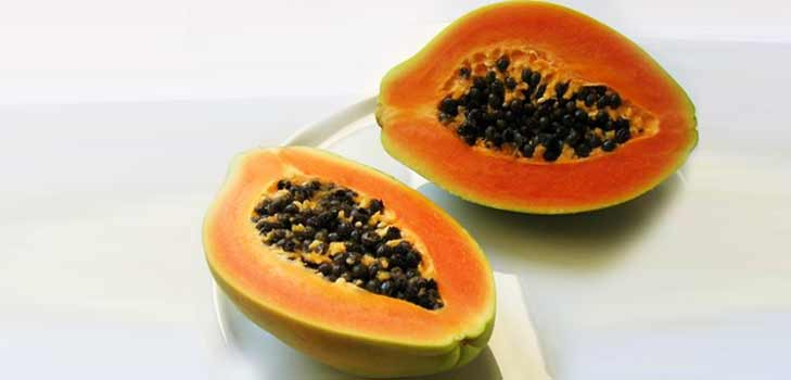 Papaya eases your digestive system @theroyaleindia