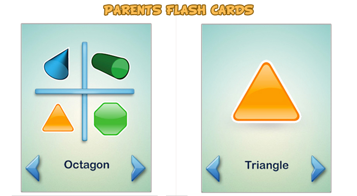 Parents Flash Cards app for the family @TheRoyaleIndia