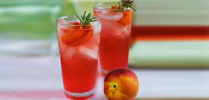 Peach Passion Summer Cooler Recipe @TheRoyaleIndia