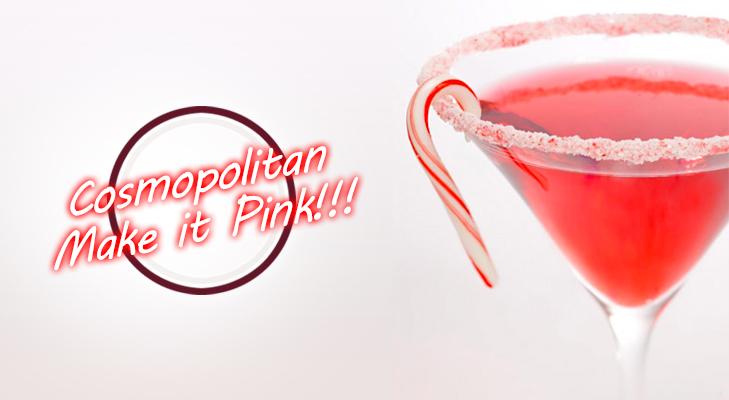 Cosmopolitan- Make it Pink!! @TheRoyaleIndia